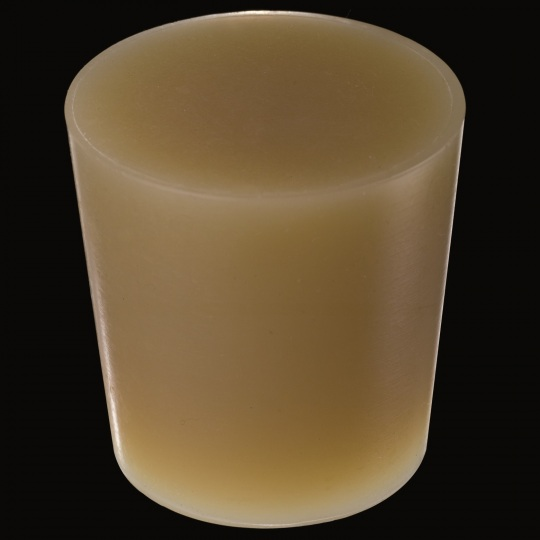 silicone barrel bung conical model in brown color