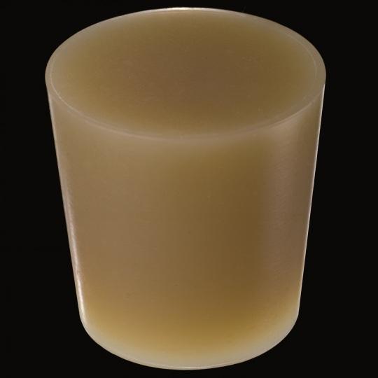 tapón de silicona para barricas modelo cónico de color marrón