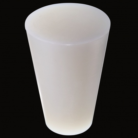 tapón de silicona para barricas modelo universal foudre de color blanco