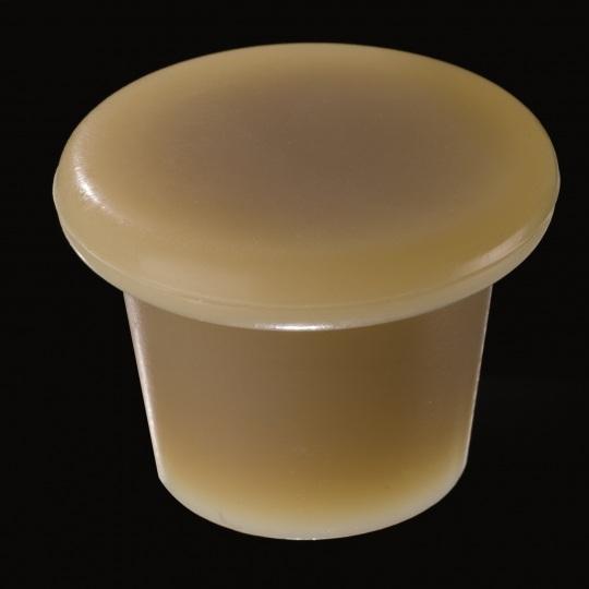 tapón de silicona para barricas modelo zeta de color marrón