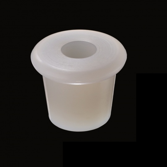 silicone barrel bung zeta racking model in white color